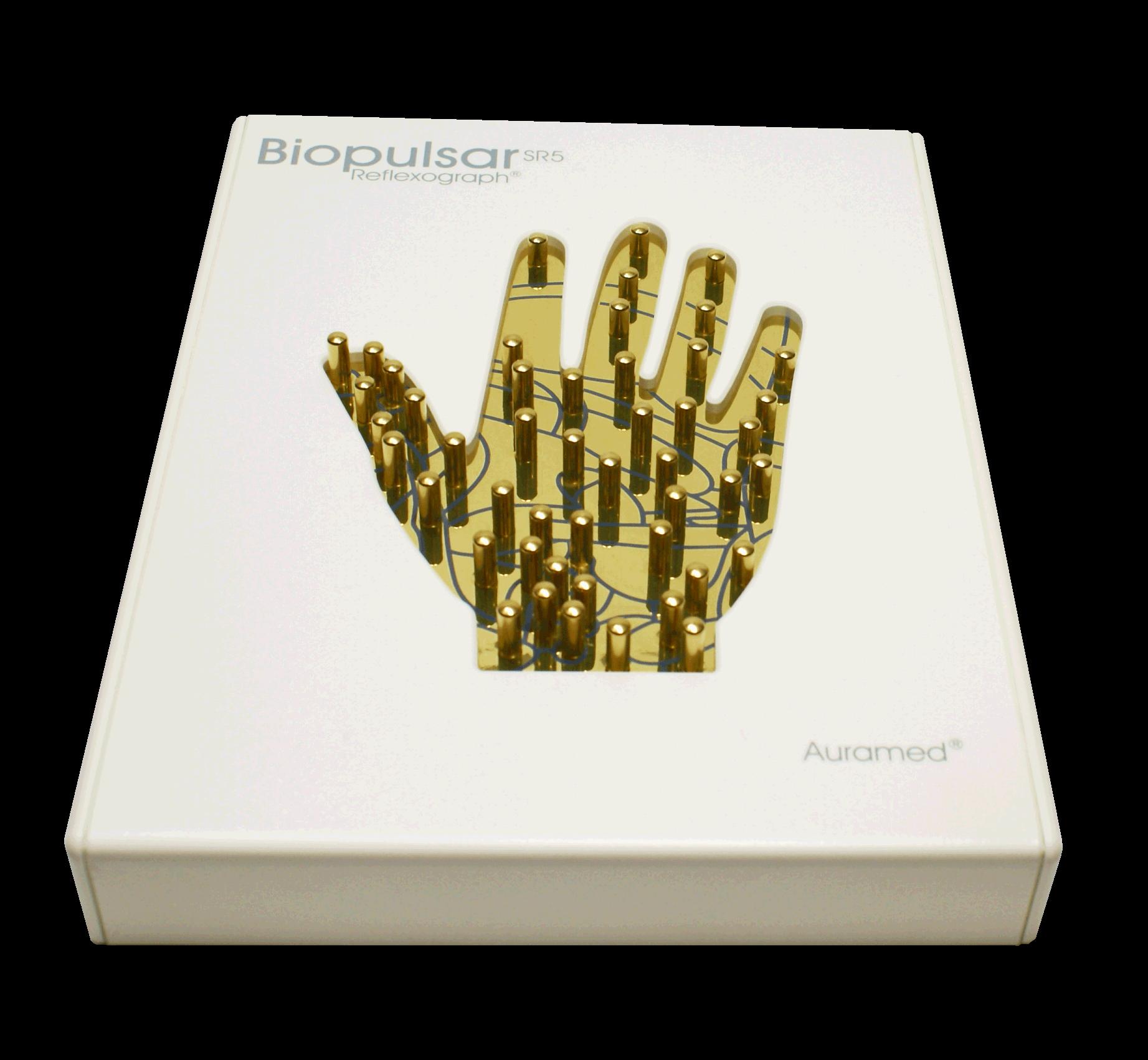 1-Hand Biofeedback-Sensor zur Reflexzonentherapie