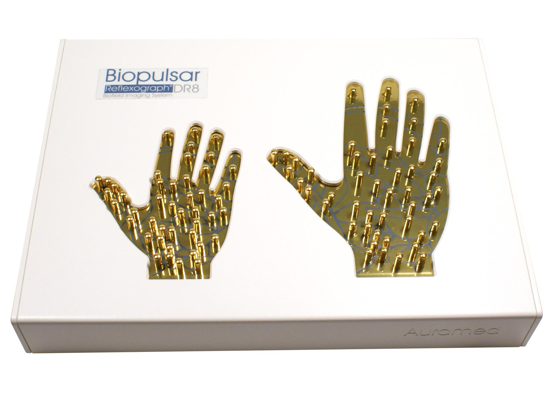 2-Hand Biofeedback-Sensor zur Reflexzonentherapie