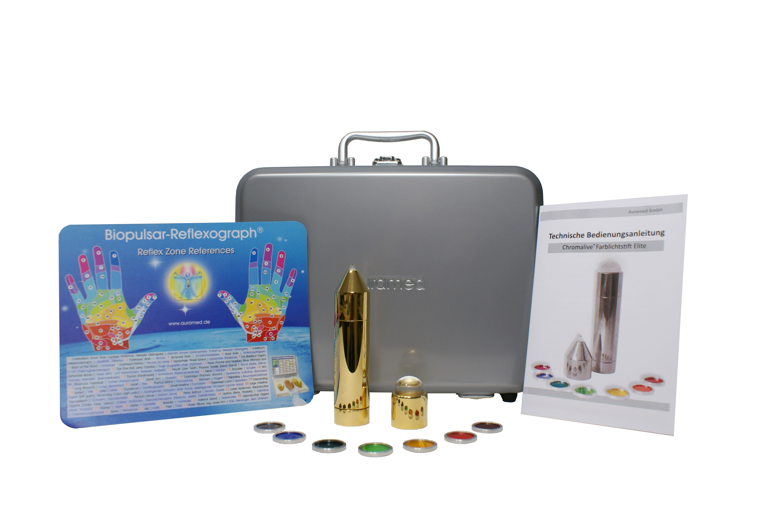 Farbtherapie-Sets gold