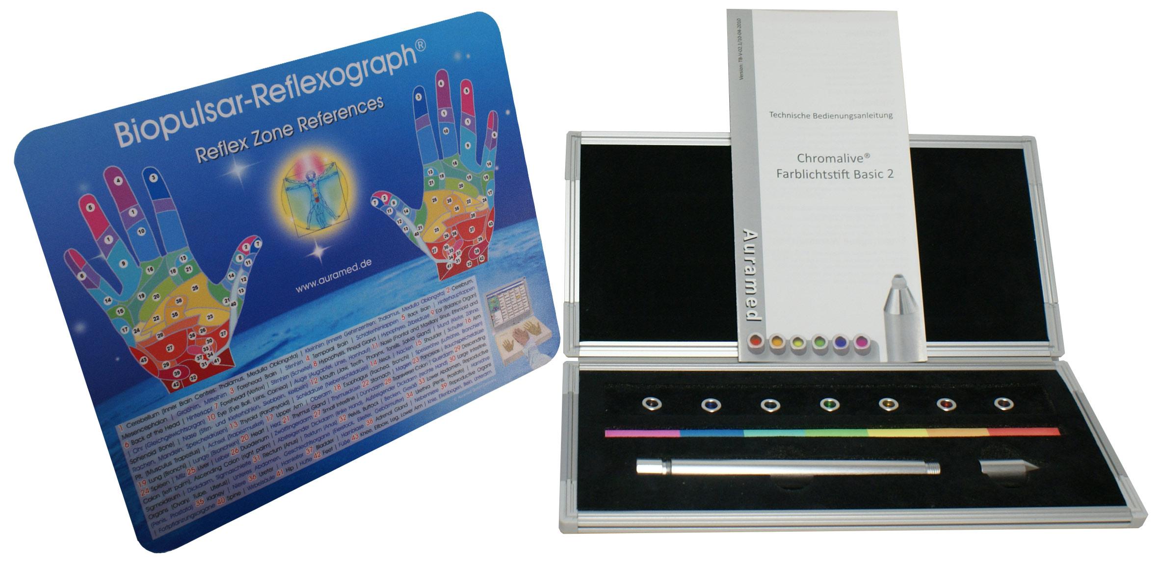 Farbtherapie-Sets Basic